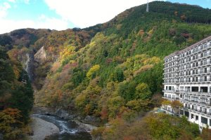 อีกมุมสวยๆ ของเมืองแห่งออนเซนอย่างKinugawa Onsen (鬼怒川温泉)