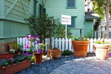 <p>The beautiful Moegi House</p>