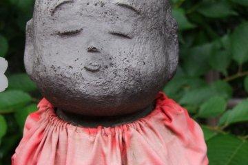 Cada estatua tiene su muy propia expresión