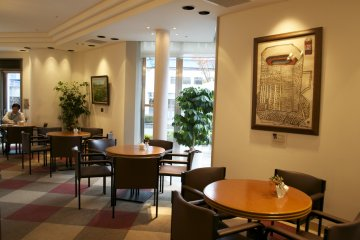 <p>The museum&#39;s cozy caf&eacute;, UCC Cofee Road</p>