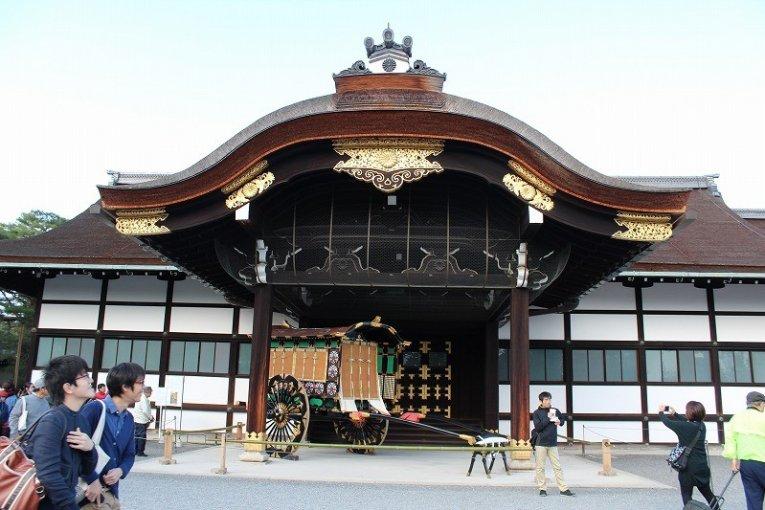 เดินชมพระราชวังอิมพีเรียลเกียวโต 1