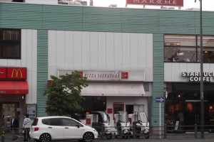 Conveniently located above Shonandai Station