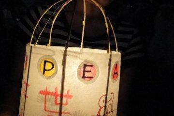 handmade lantern for peace