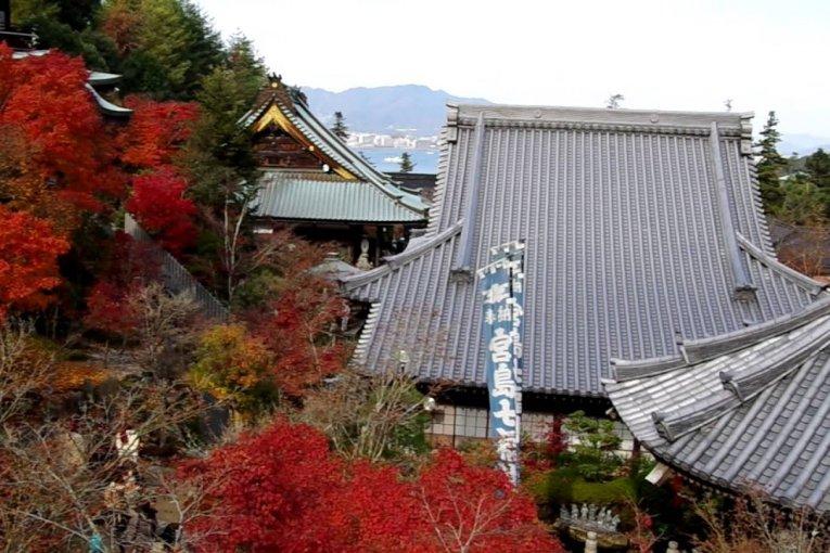 Kuil Miyajima Daisho di Musim Gugur