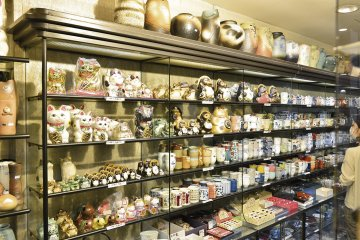 <p>Maruzen sells tableware and household items made in Japan</p>