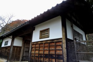 Entrance of Osagoe Folk Village Museum in Fukui