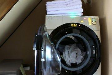 <p>신기했던 세탁기</p>