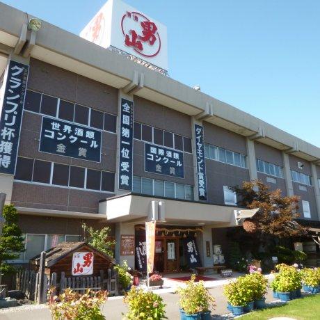 北海道的男山酒造資料館