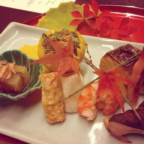 Ужин в рёкане Хиирагия, Киото
