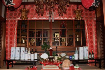 京都嵯峨野、二尊院「九頭竜弁財天」~第二部