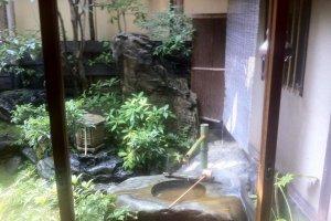 Вид из окна. Сад Хиирагия.