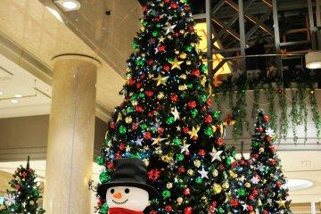 <p>Огромное&nbsp;шестиметровое&nbsp;дерево стоит в галерее Диамор</p>