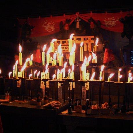 ปีใหม่ที่ศาลเจ้าฟุชิมิ อินะริ