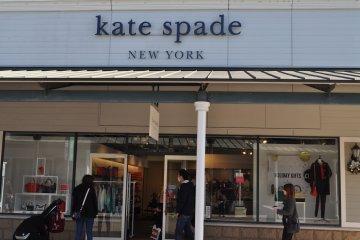 <p>Kate Spade的粉丝得到最大的满足</p>
