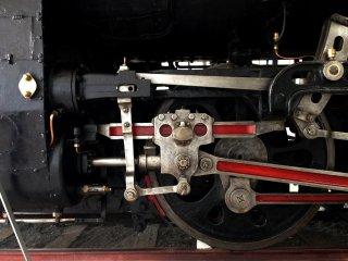 Chi tiết của bánh xe theo bố trí 2-6-2