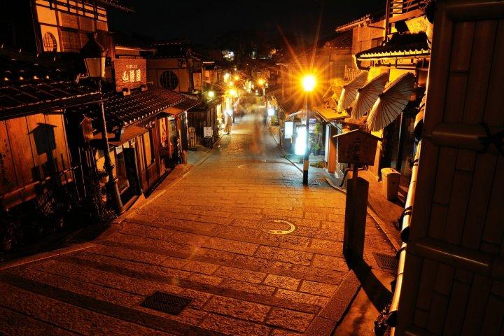 ยามค่ำคืนในเกียวโต