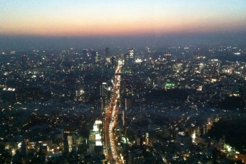 <p>Gazing over Roppongi-dori heading east toward Shibuya.</p>