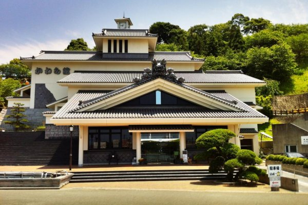 Kawara-Kan Tile Museum from the front