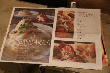 <p>Page on pancakes</p>