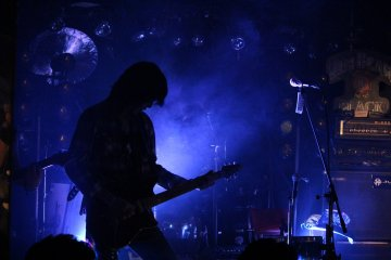 <p>Bauhaus stage effects and lighting greatly add to the experience</p>