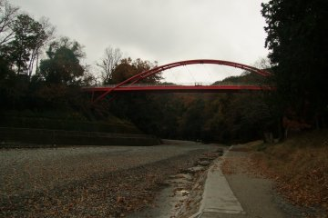 <p>The Wareiwa Bridge over the Iruma River</p>
