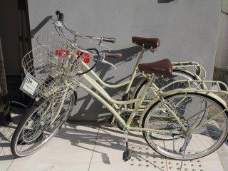 Велосипеды на прокат от отеля.