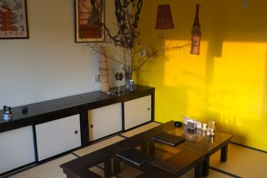 和室のお座敷もあるので、ゆったりくつろぎながら料理を堪能することが可能です。