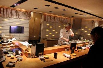 Anago at Sakana Gensai