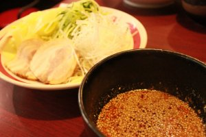 The must-try spicy tsukemen