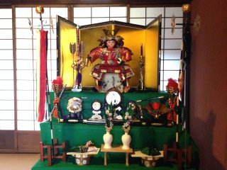 The regal splendour from the age of the Samurai