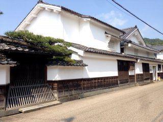 The grand entrance to Mikami's historic house in Miyazu. Today this port is the gateway for cruise ships to dock in Kyoto Prefecture.
