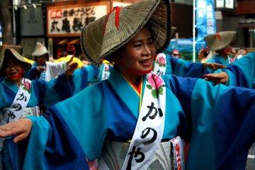Фестиваль Охара Кагосима в Сибуя
