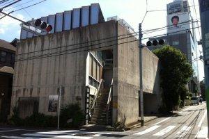 Located in a residential neighborhood in Shibuya