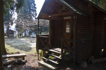 <p>Cabin 3; in late March there was no one around</p>