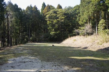 <p>An open space near the tent area</p>