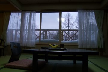 <p>Stay at a traditional Japanese ryokan or hotel</p>
