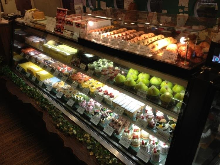A stunning array of Magical cakes, sweets and pastries.