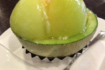 A summer favorite, melon cake...