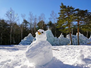 Build your own Frosty the Snowman