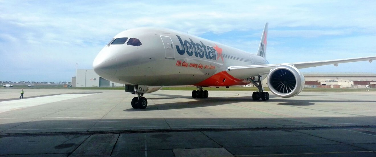 Jetstar flies to Sapporo from Tokyo Narita with connections on the 787 between Narita and