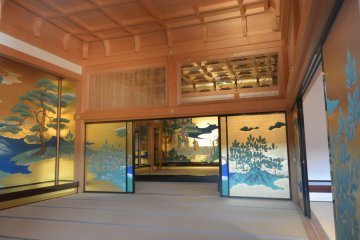 <p>The interior is like what we often see in Japan Samurai Movies</p>