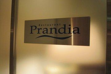 <p>La se&ntilde;al de la entrada al Prandina</p>