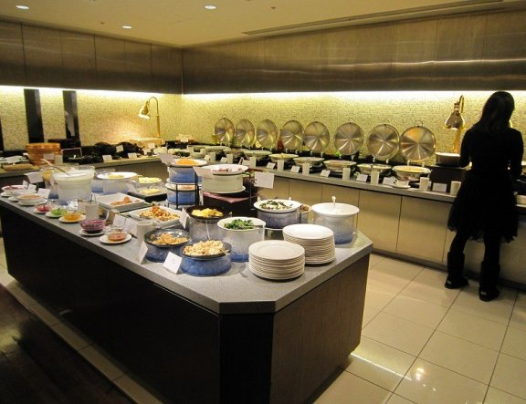 El buffet del Kyoto Royal Hotel y Spa