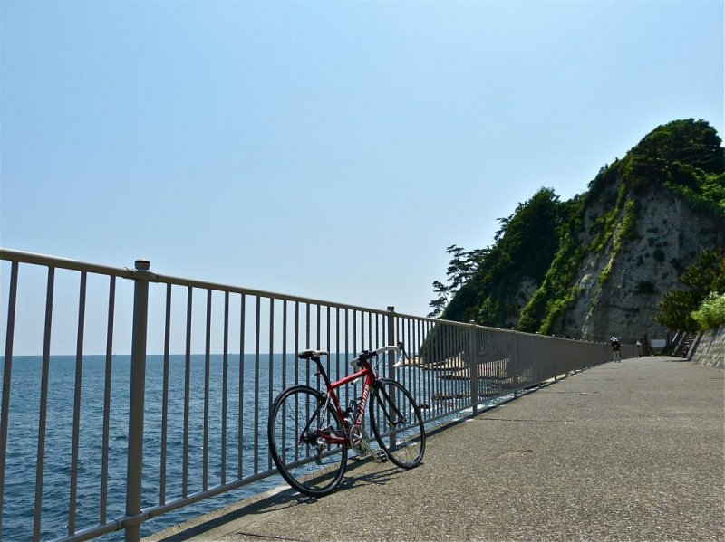 이곳은 자전거 이용자들이 가장 좋아하는 휴식 공간이다