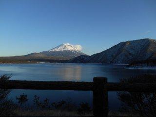Mount Fuji from Lake Motosu