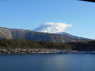 Mount Fuji from Lake Sai