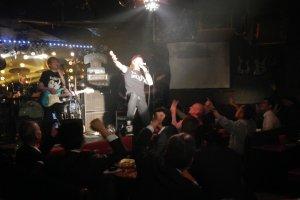 お客さんもバンドも一体になって盛り上がった!