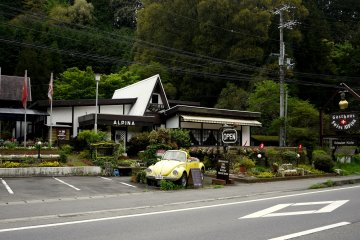 <p>You never know what you will find in the Japanese countryside!</p>