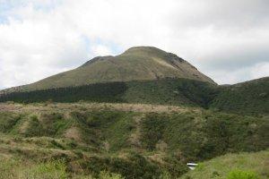 A dormant volcano