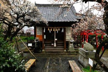 Scapegoat Tenjin Shrine in Nagasaki